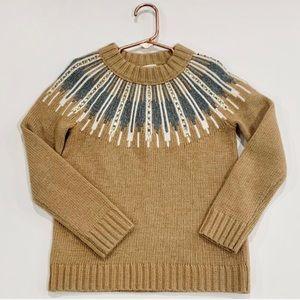 • crewcuts • girls embellished yoke sweater •